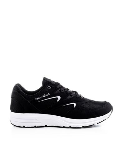 Tonny Black Siyah Beyaz Unisex Spor Ayakkabı 772-0 Siyah